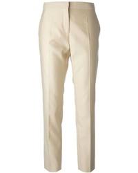 Pantalones pitillo en beige de Salvatore Ferragamo