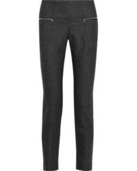 Pantalones pitillo en gris oscuro