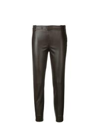 Pantalones pitillo en marrón oscuro de Kiltie