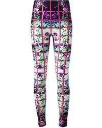 Pantalones pitillo en multicolor