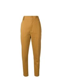 Pantalones pitillo en tabaco de Isabel Marant Etoile