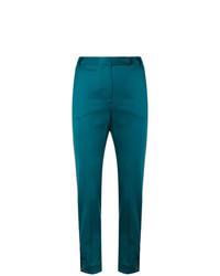 Pantalones pitillo en verde azulado de Styland