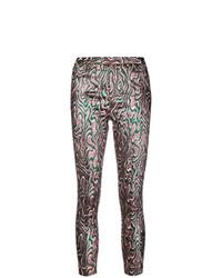Pantalones pitillo estampados en multicolor de Isabel Marant Etoile