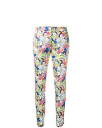 Pantalones pitillo estampados en multicolor de Ultràchic