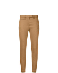 Pantalones pitillo marrón claro de Dondup