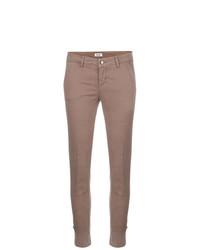 Pantalones pitillo marrónes de Liu Jo