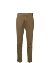 Pantalones pitillo marrónes de P.A.R.O.S.H.