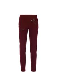 Pantalones pitillo morado oscuro de Mara Mac
