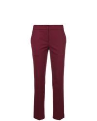 Pantalones pitillo morado oscuro de Twin-Set