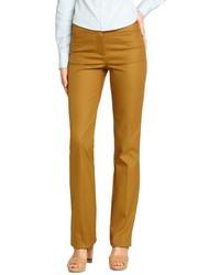 Pantalones pitillo mostaza