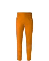 Pantalones pitillo naranjas de Andrea Marques