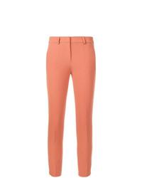 Pantalones pitillo naranjas de Blanca