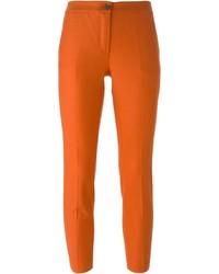 Pantalones pitillo naranjas