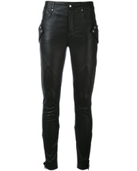 Pantalones pitillo negros de Alexander McQueen