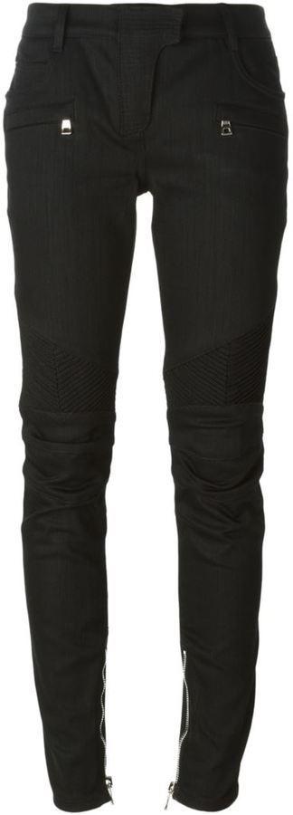 Pantalones pitillo negros de Balmain