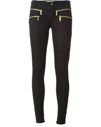 Pantalones pitillo negros de MICHAEL Michael Kors