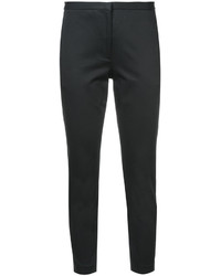 Pantalones pitillo negros de Rosetta Getty