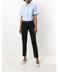 Pantalones pitillo negros de Jil Sander Navy