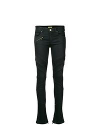 Pantalones pitillo negros de Versace Jeans