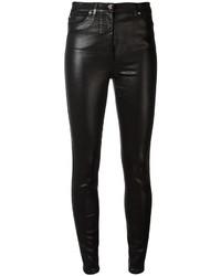 Pantalones pitillo negros de Versace