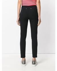 Pantalones pitillo negros de T by Alexander Wang