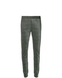Pantalones pitillo plateados de Layeur