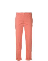 Pantalones pitillo rosa de Aspesi