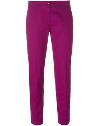 Pantalones pitillo rosa de Etro