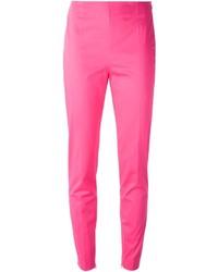 Pantalones pitillo rosa de Moschino