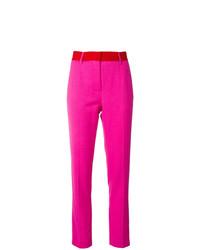 Pantalones pitillo rosa de MSGM