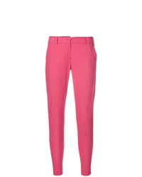 Pantalones pitillo rosa de Twin-Set
