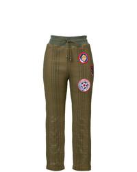 Pantalones pitillo verde oliva de Mr & Mrs Italy