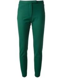 Pantalones pitillo verde oscuro de MSGM