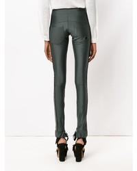 Pantalones pitillo verde oscuro de Andrea Bogosian