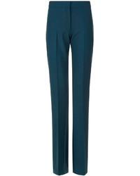 Pantalones Pitillo Verde Oscuro