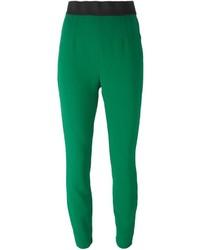 Pantalones pitillo verdes de Dolce & Gabbana