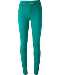 Pantalones pitillo verdes de Paul Smith