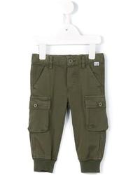 Pantalones verde oliva de Il Gufo