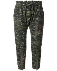 Pantalones Verde Oscuro de Current/Elliott