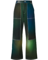 Pantalones verde oscuro de Kenzo