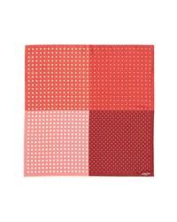 Pañuelo de Bolsillo a Lunares Rojo y Blanco