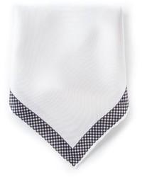 Pañuelo de bolsillo blanco de Lanvin
