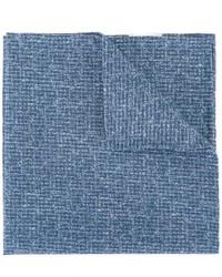 Pañuelo de bolsillo de algodón azul de Eleventy