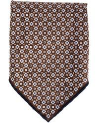 Pañuelo de Bolsillo de Flores Burdeos de Brunello Cucinelli