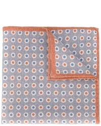Pañuelo de bolsillo de lana a lunares gris de Eleventy