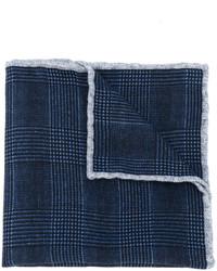Pañuelo de bolsillo de lana azul marino de Eleventy