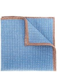Pañuelo de bolsillo de lana celeste de Eleventy