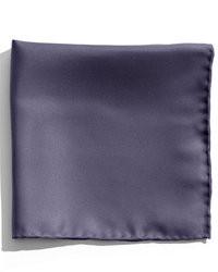 Pañuelo de Bolsillo de Seda Azul Marino