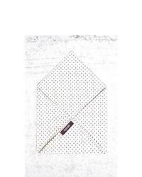 Pañuelo de bolsillo en blanco y negro