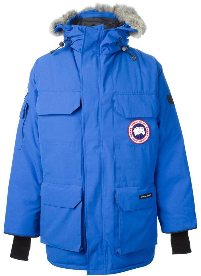 Canada Goose Expedition Parka azul